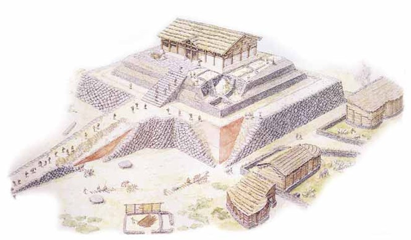Sassari Tempio Altare Di Monte D 39 Accoddi Il Complesso